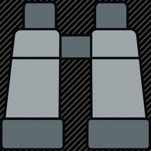 binocular, explore, find, optimization, search icon