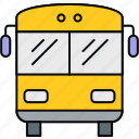 bus, road, transport, transportation, travel, van, vehicle icon