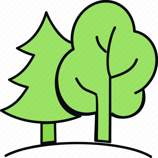 environment, flower, forest, garden, nature, plant, tree icon