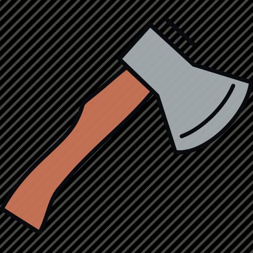 ax, axe, cut, cutter, cutting, tools icon