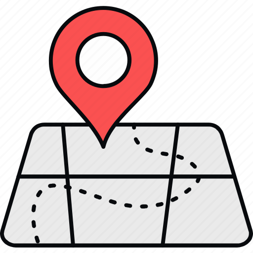country, direction, gps, location, navigation, place, world icon