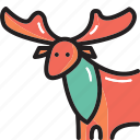 animal, deer, wildlife icon