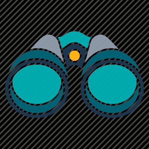 binocular, equipment, tool, tourism, travel icon