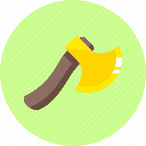 ax, camping, equipment, hatchet, tool, tools, weapon icon