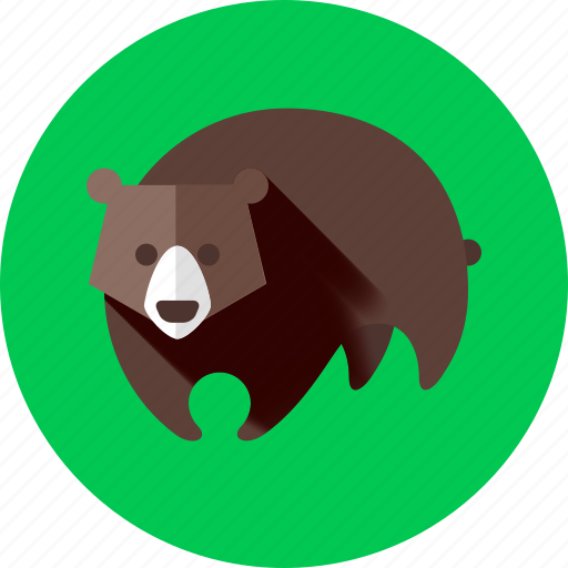 animal, animals, bear, forest, natural park, wild, zoo icon