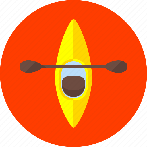 boat, boating, canoeing, kayak, kayaking, sports, water icon