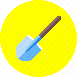 construction, digging, equipment, shovel, tool, work, worker icon
