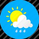 weather, clouds, cloudy, sky, sun, sunny, temperature