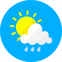 clouds, cloudy, sky, sun, sunny, temperature, weather icon