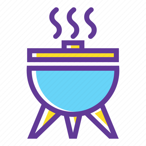 barbecue, bbq, camp, camping, camping gear, cook, grill icon