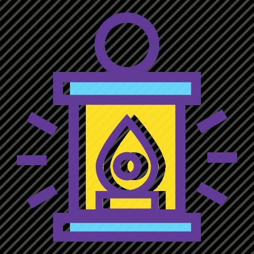 camp, camping, camping gear, camping lantern, gas lantern, light icon