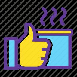 camping, camping gear, camping mug, hoy drink, thermos icon
