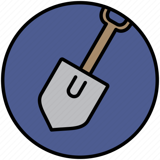 Camp, dig, mine, shovel, spade icon - Download on Iconfinder