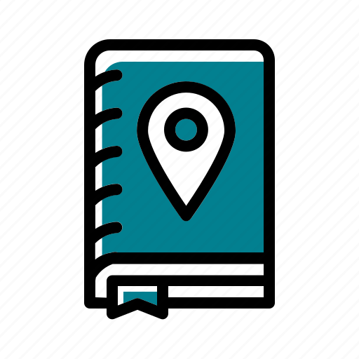 book, camping, travel, travel book icon