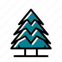 adventure, camping, hooliday, tree icon