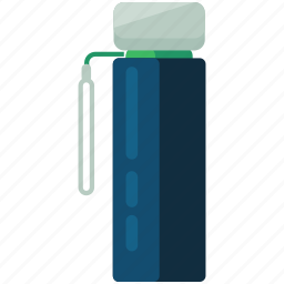 beverage, bottle, camping, container, essentials, liquid icon