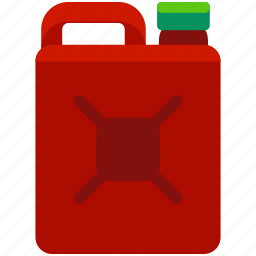 camping, container, essentials, gas, gasoline icon