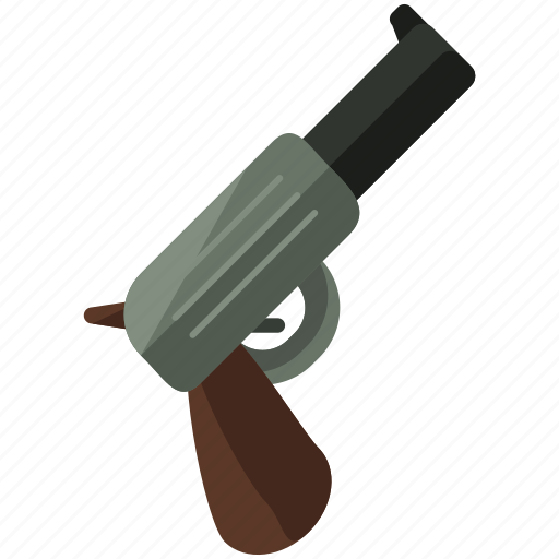 gun, weapon icon