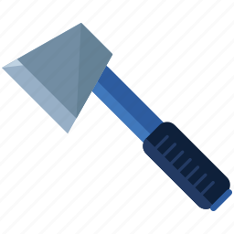 axe, camping, equipment, essentials, metal, tool icon