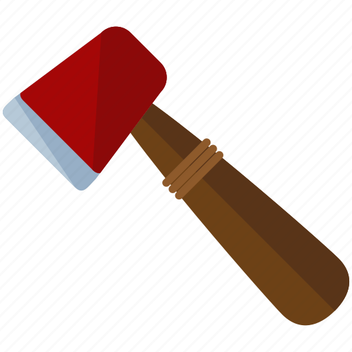 axe, camping, equipment, essentials, tool, wooden icon
