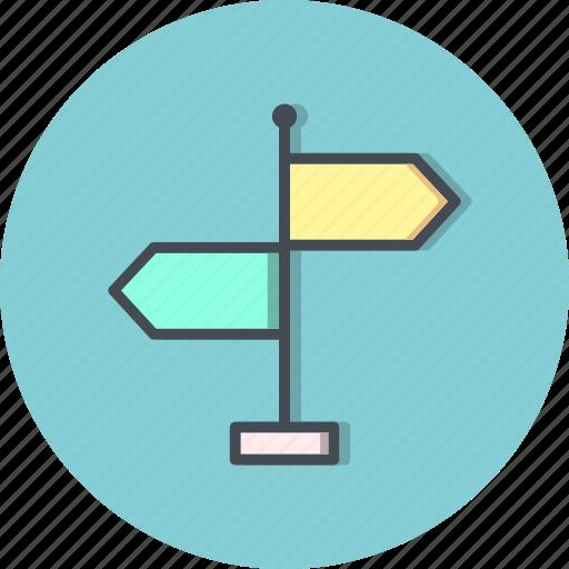 direction, location, navigation, way icon