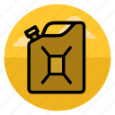 fuel, gas, gasoline, jerry can, jerrycan, oil, petrol icon