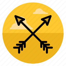 aim, archery, arrow, arrows, bow, direction, up icon