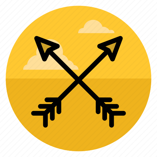 aim, archery, arrow, arrows, bow, direction, up icon