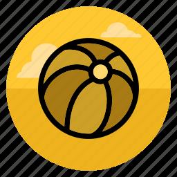 ball, balls, beach, play, sport, travel, vacation icon