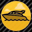 boat, cruise, ocean, sea, ship, travel, yacht icon