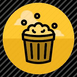 cinema, eat, fastfood, food, movie, popcorn, sweet icon