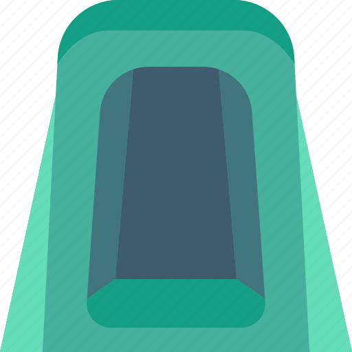 camping, leisure, outdoors, privacy, recreation, tent, travel icon