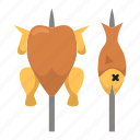 adventure, barbecue, camping, holiday, outdoor, sport, wild life icon