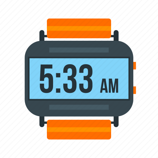 clock, digital, smart, sport, watch, wrist, wristwatch icon