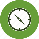 direction, compass, location icon