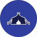 capming, tent, tipi icon