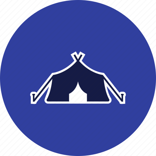 camp, capming, tent, tipi icon