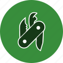 knife, swiss army knife, weapon icon
