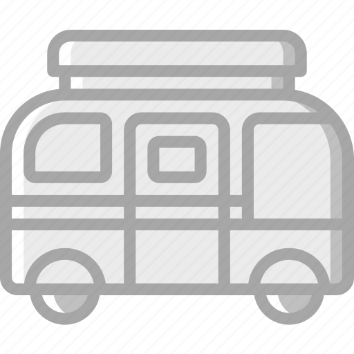 camper, camping, leisure, outdoors, recreation, travel icon