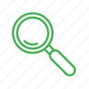 camping, find, magnifier, search, seo, zoom icon