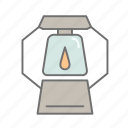 camping, camping gear, hiking, lantern, nature, outdoors, recreation icon