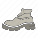 boot, camping, hiking, hiking boot, nature, outdoors, recreation icon