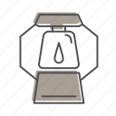 campfire, camping, hiking, lantern, nature, outdoors, recreation icon