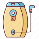 bladder, hot, hydration, temperature icon