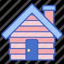 cabin, cottage, hut
