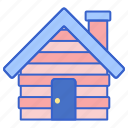 cabin, cottage, hut icon