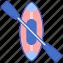 boat, canoe, kayak icon
