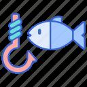 fisherman, fishing, seafood icon