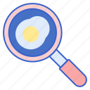cooking, frying, pan icon