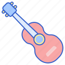 guitar, music, player icon